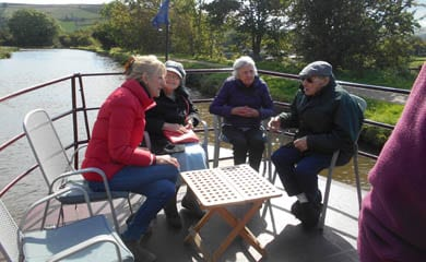 Gargrave Canal Boat Trip